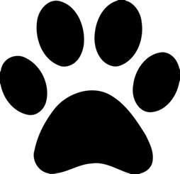 Dog Paw Print Vector