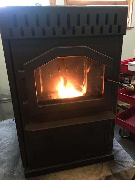 magnum baby countryside corn  wood pellet stove