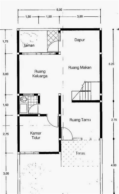gambar rumah  lantai luas tanah   redesaincom