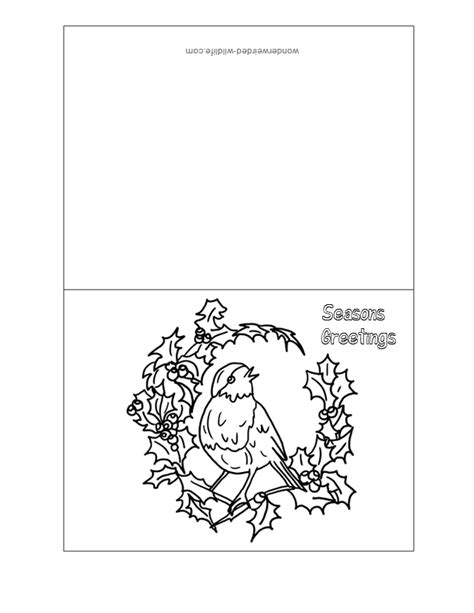printable coloring christmas cards az coloring pages