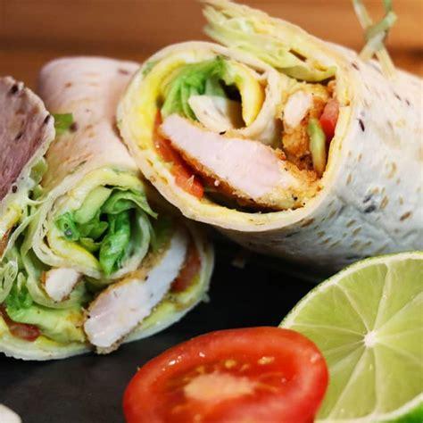 cuisine chinoise poulet croustillant wrap au poulet croustillant sublime recette