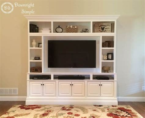 tv for kitchen cabinet downright simple diy tv built in wall unit this is my 8598