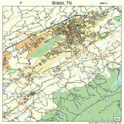 Tennessee Bristol TN Maps