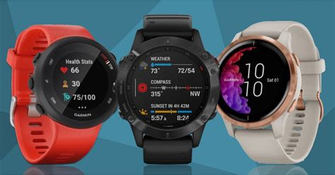 garmin fitness tracker which running cycling sport smartwatches gps weight training wareable compared using