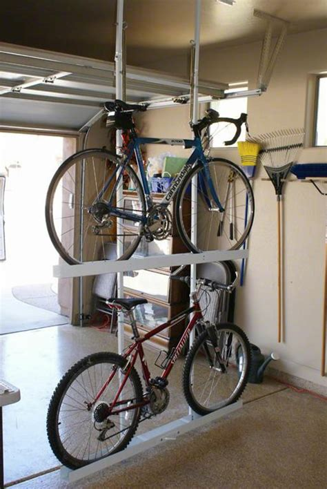 ceiling bike rack for garage ceiling bike storage from your great garage in