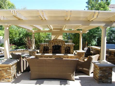 alumawood patio cover design installation project pictures