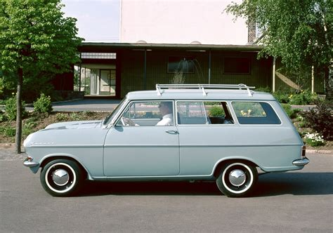 A Brief History Of Opel's Compact Station Wagons