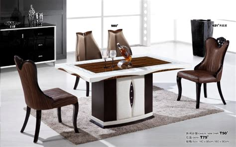 New Design Modern Marble Top Dining Table For Dining Room