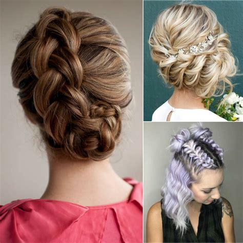 latest braided bun hairstyle top beauty magazines
