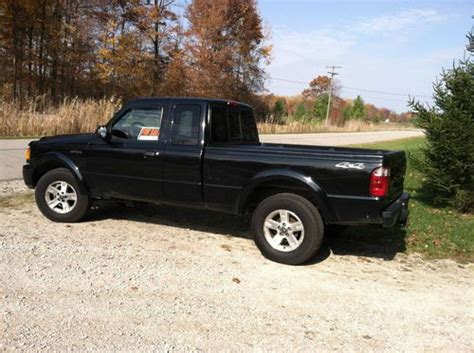 find used 2005 ford ranger 4x4 extended cab 9900 in milan michigan united states