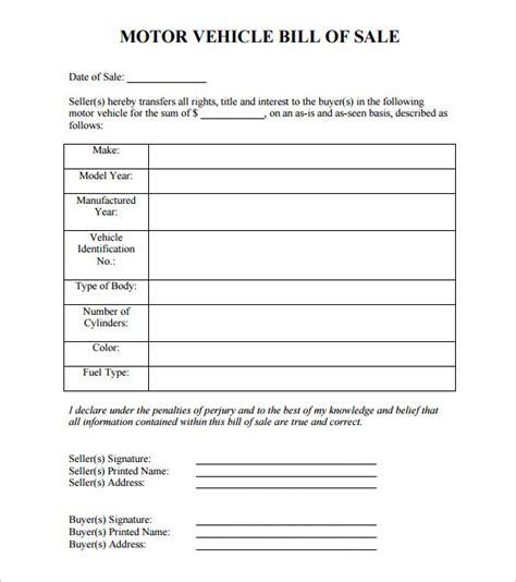 auto bill  sale    premium templates