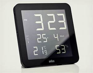 Braun Digital Wall Clock | Cool Material