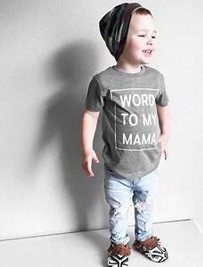 Word To My Mama {Toddler}   Hipster kid, Graphic shirts ...