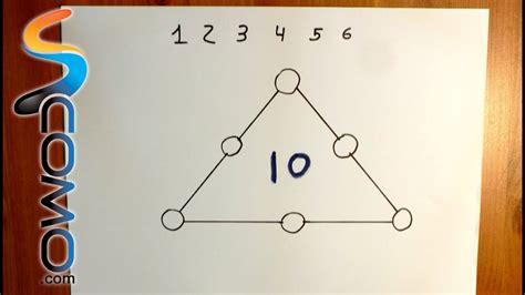 En otros, tienes que reconocer patrones, hacer conexiones, determinar relaciones y. Acertijo de matemáticas con respuesta (triángulo) - YouTube