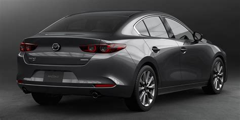 mazda  officially revealed sedan hatchback