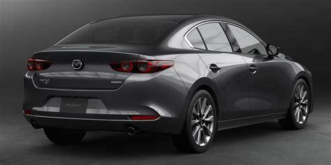 mazda  officially revealed sedan hatchback