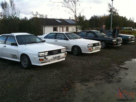 amazing audi quattro 1986 audi ur quattro turbo wr rhd white classic show car