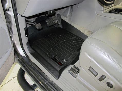 weathertech floor mats tahoe 2005 chevrolet tahoe weathertech front auto floor mats black