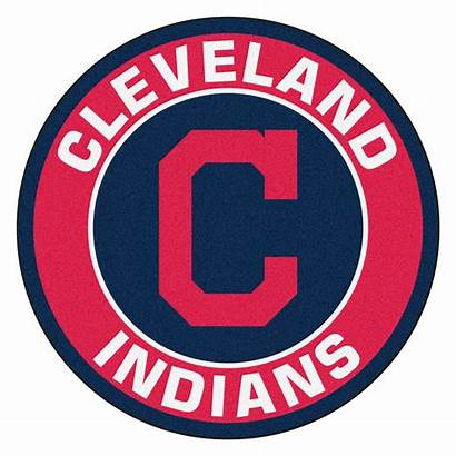 Indians Cleveland Mlb Baseball Logos Round Teams