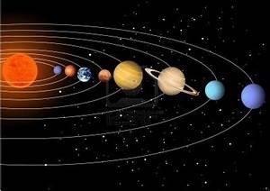 L'universo, stelle, pianeti e astronavi