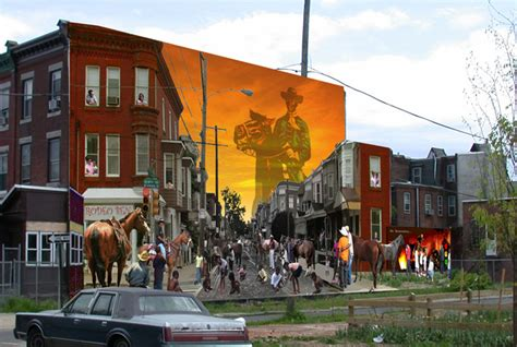 the mural arts program launches a new american mural collection and tour complete with a