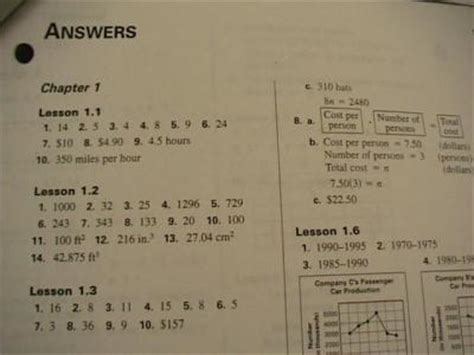 pearson texas algebra 1 form g answer key glencoe algebra 1 homework practice workbook answers