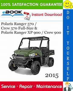 2015 Polaris Ranger 570    Crew 570 Full