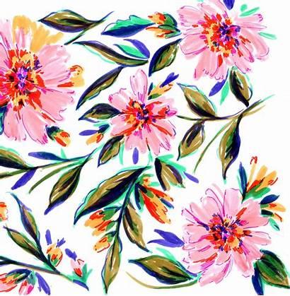 Flower Textile Patterns Sketches Floral Pattern Designs