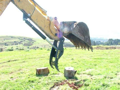 amulet powerclamp hydraulic excavator thumb    ton excavators