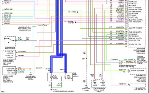 Wiring Diagram For 2004 Chrysler Cirru by Can You Provide Me With The Wiring Diagram For The Fuel