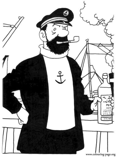 adventures  tintin captain archibald haddock