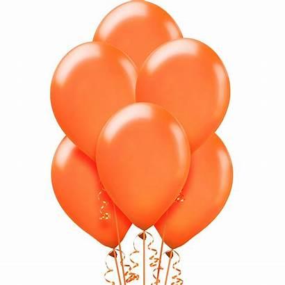 Balloons Orange Pearl Latex Balloon Caribbean 15ct