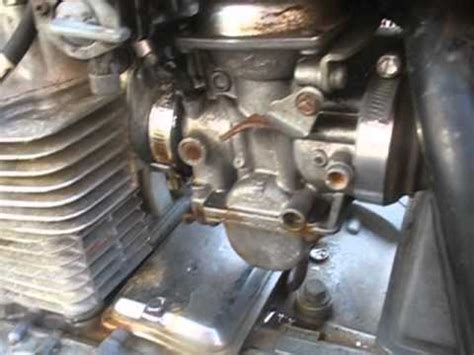diagnose carburetor vacuum leaks   motorcycle