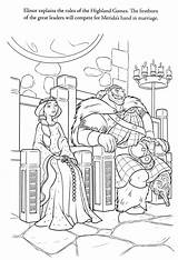 Coloring Brave Royalty Disney Ministerofbeans Pixar Title Bestcoloringpagesforkids sketch template