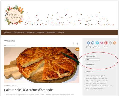 newsletter cuisine la première newsletter nanie cuisine n 39 attend que vous