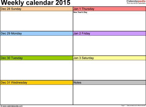 printable calendar template printable weekly calendars 2017 printable calendar