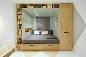 Rangement Chambre Ado : chambre ado fille meubles multi fonctionnels et d coration ~ Voncanada.com Idées de Décoration