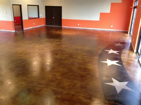 concrete sting cost lewis and clark custom stained floor