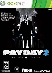 Payday 2 Collector39s Edition Xbox 360 Game