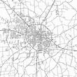 Dothan, Alabama - Area Map - Light | Streit