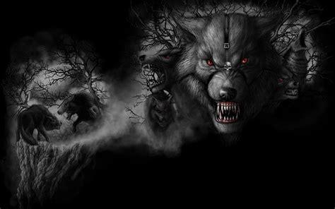 Dark Wolf Wallpapers