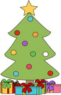 christmas tree with gifts clip art christmas tree with gifts image