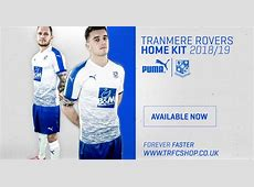 Tranmere Rovers 1819 Home Kit Released Footy Headlines
