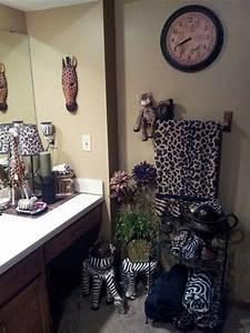 Safari bathroom Love my safari Pinterest