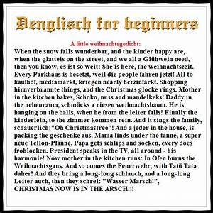 Weihnachtsgedichte Kinder Alt : a little denglisch weihnachtsgedicht when the snow falls ~ Haus.voiturepedia.club Haus und Dekorationen