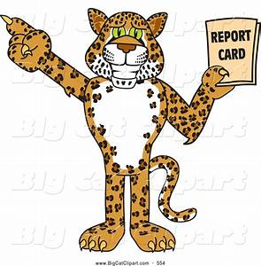 Cute Cartoon Jaguar