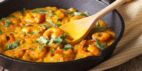 pates aux crevettes curry po 234 l 233 e de crevettes curry coco recettes femme actuelle