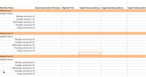content calendar template how to create a 90 day content calendar with free templates exles