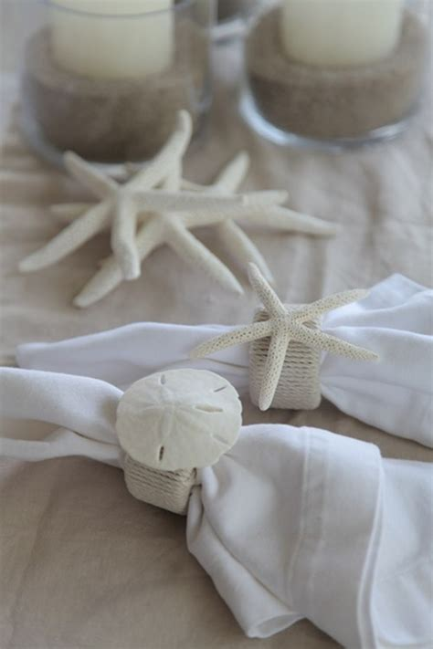 diy wedding napkin ideas diy wedding ideas beach theme napkin rings