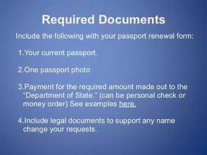 Passport renewal forms what you need to know for Documents you need for passport